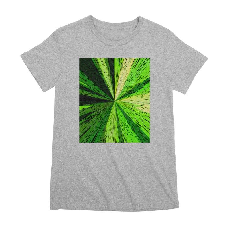 Green Zoom Green Women's Premium T-Shirt by Korok Studios Artist Shop