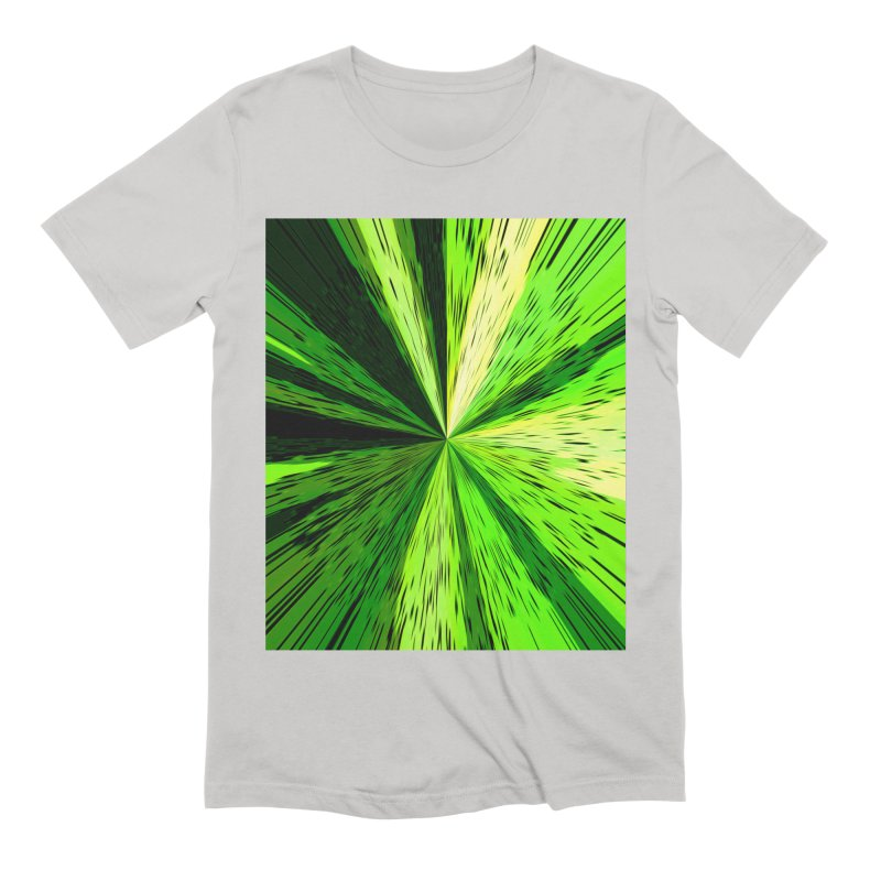 Green Zoom Green Men's T-Shirt by Korok Studios Artist Shop