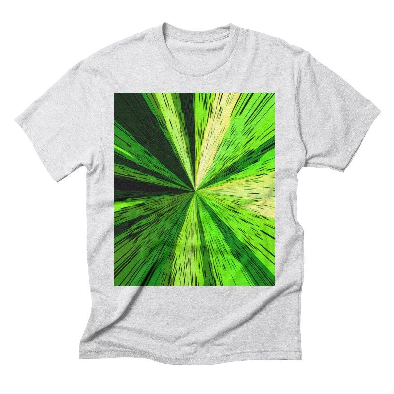 Green Zoom Green Men's T-Shirt by Korok Studios Artist Shop