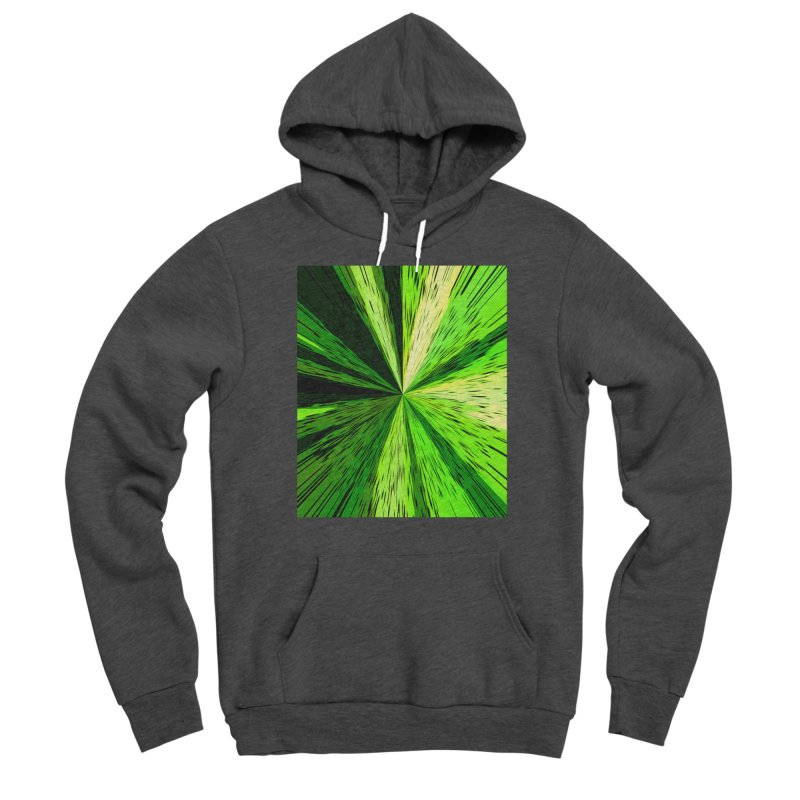 Green Zoom Green Men's Pullover Hoody by Korok Studios Artist Shop