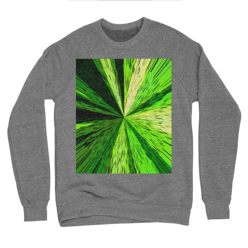 Green Zoom Green Men's Sweatshirt by Korok Studios Artist Shop