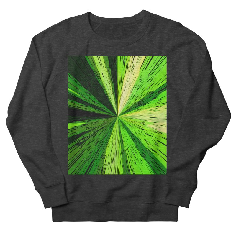 Green Zoom Green Women's Sweatshirt by Korok Studios Artist Shop