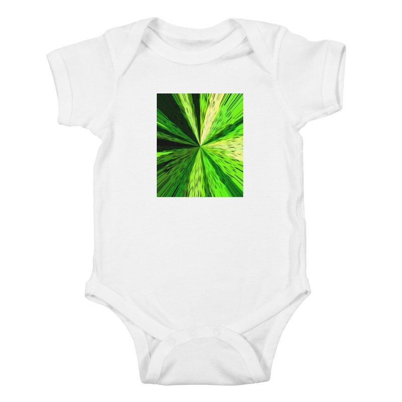 Green Zoom Green Kids Baby Bodysuit by Korok Studios Artist Shop
