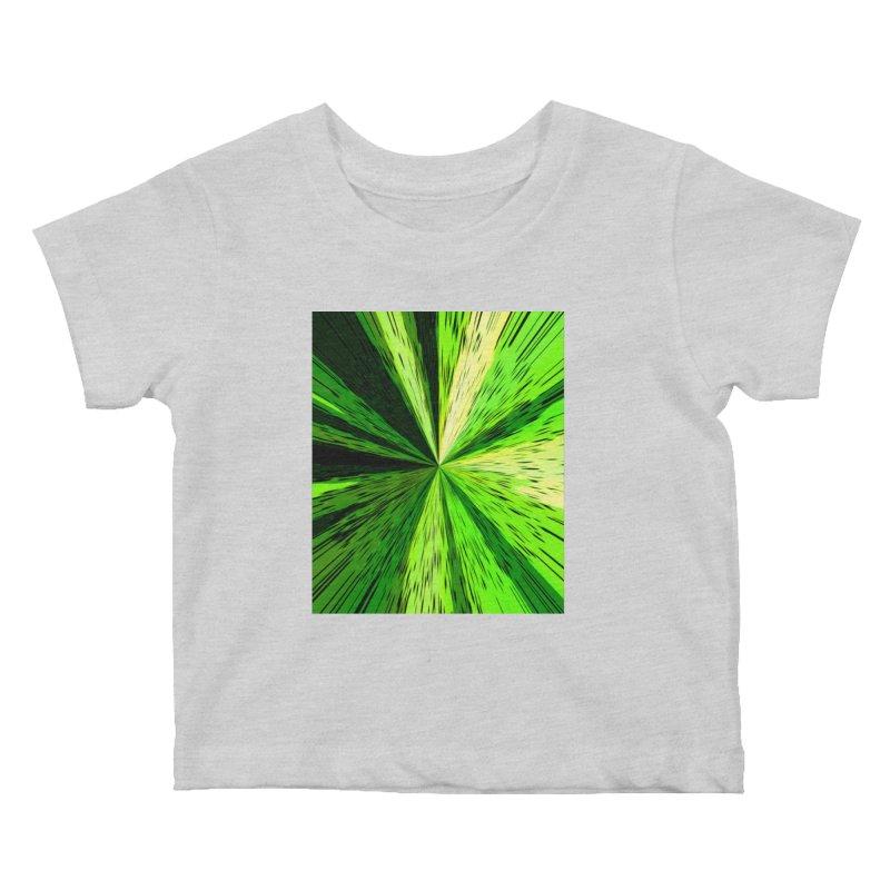 Green Zoom Green Kids Baby T-Shirt by Korok Studios Artist Shop