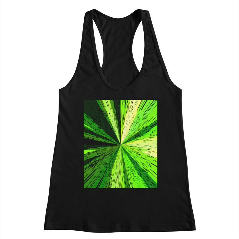 Green Zoom Green Women's Tank by Korok Studios Artist Shop