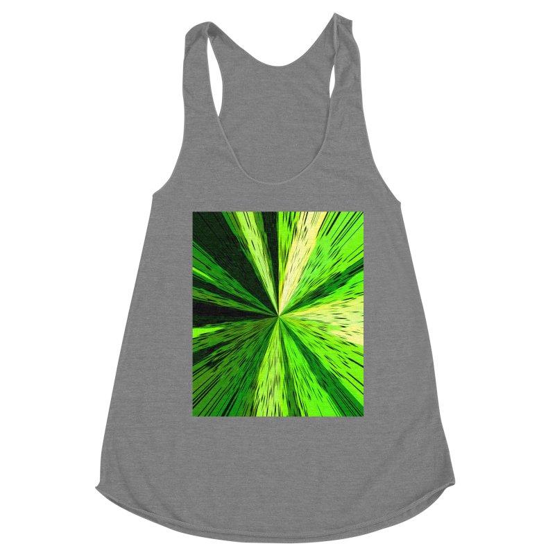 Green Zoom Green Women's Tank by Korok Studios Artist Shop
