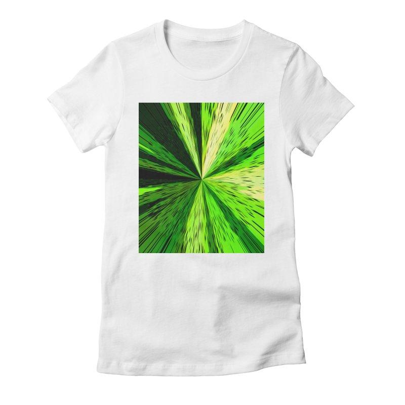 Green Zoom Green Women's T-Shirt by Korok Studios Artist Shop
