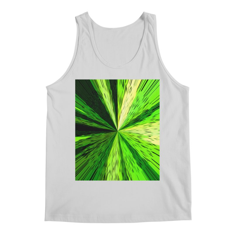 Green Zoom Green Men's Tank by Korok Studios Artist Shop