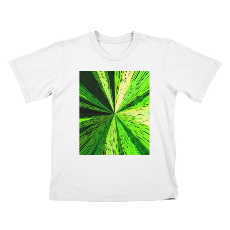 Green Zoom Green Kids T-Shirt by Korok Studios Artist Shop