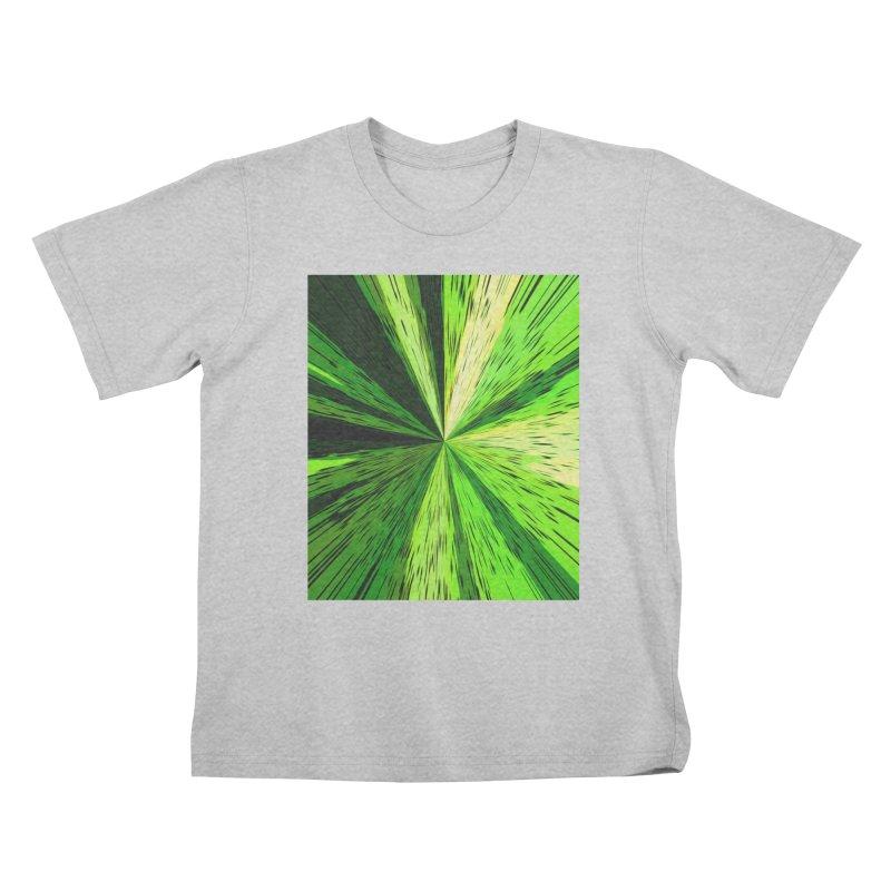Green Zoom Green Kids T-Shirt by Korok Studios Artist Shop