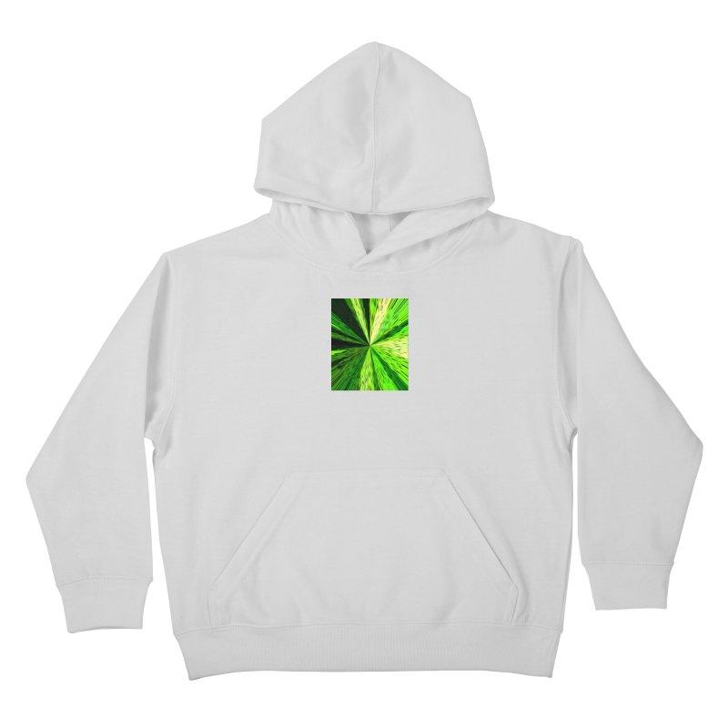 Green Zoom Green Kids Pullover Hoody by Korok Studios Artist Shop