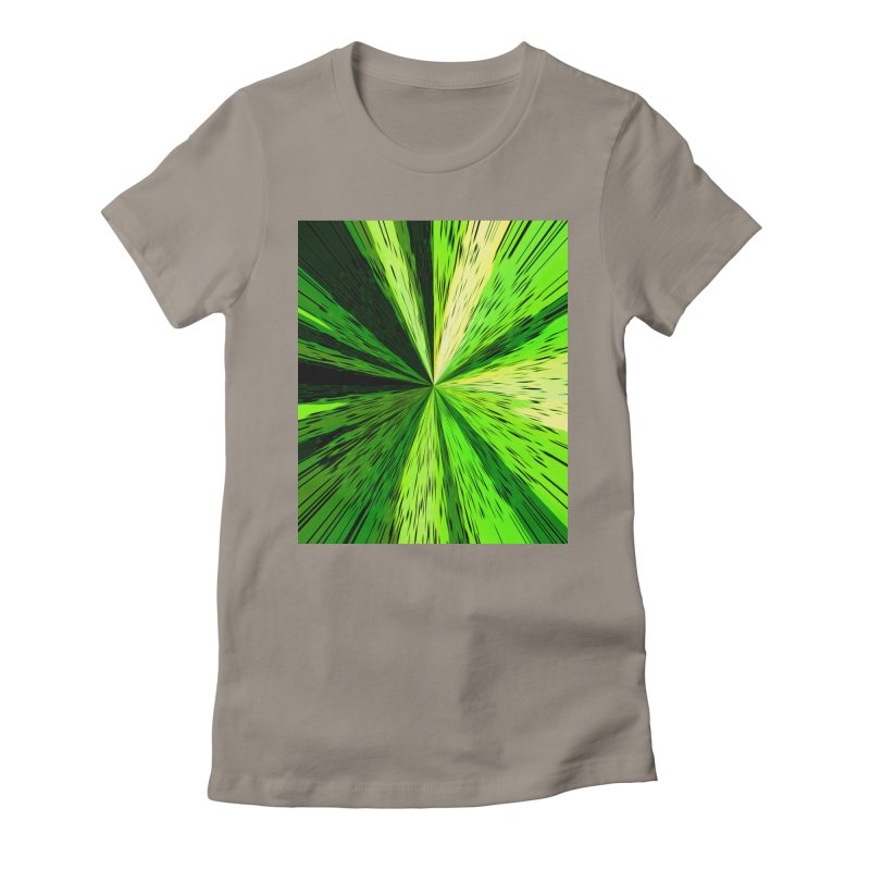 Green Zoom Green Women's T-Shirt by Korok Studios Artist Shop