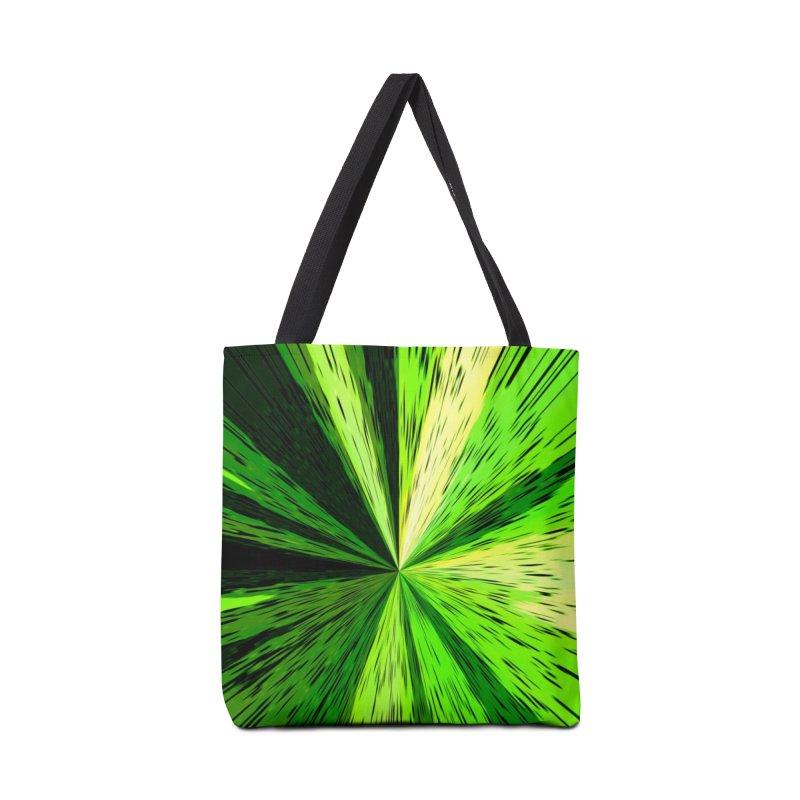 Green Zoom Green Accessories Bag by Korok Studios Artist Shop