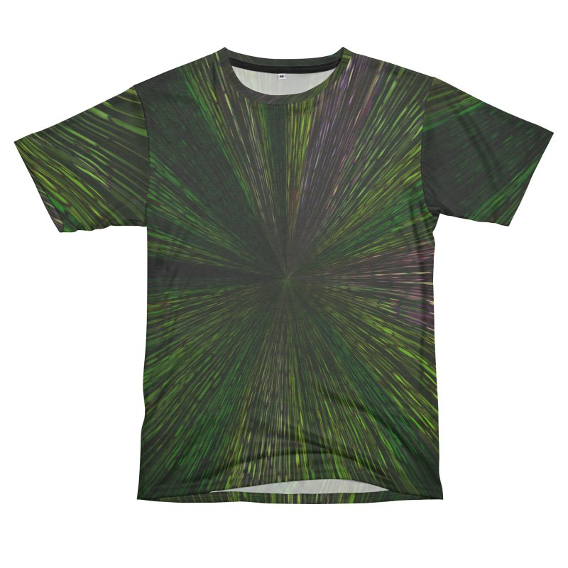 The Hyper Green Men's Cut & Sew by Korok Studios Artist Shop