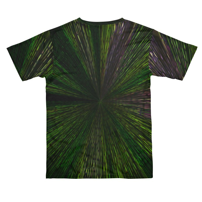 The Hyper Green Men's Cut & Sew by Korok Studios Artist Shop