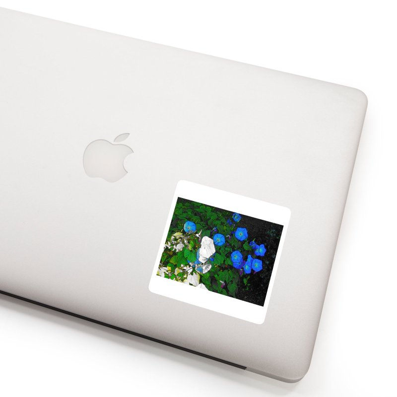 Morning Glories 3825 Accessories Sticker by Korok Studios Artist Shop