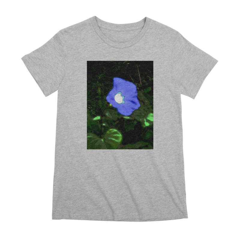 Morning Glory Abstract Women's T-Shirt by Korok Studios Artist Shop