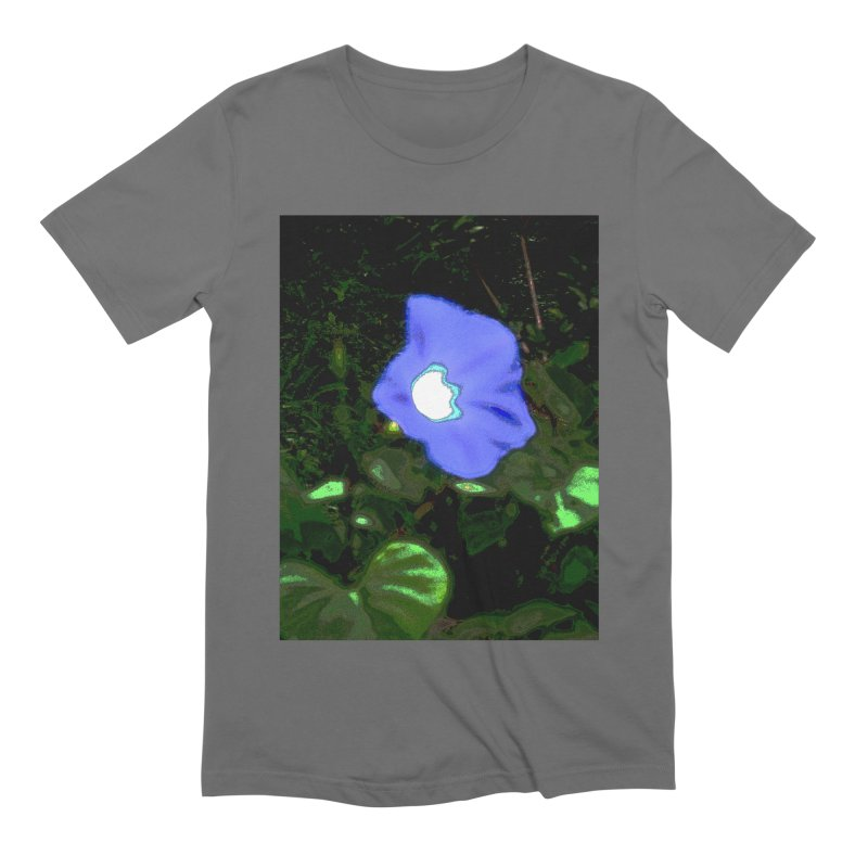 Morning Glory Abstract Men's T-Shirt by Korok Studios Artist Shop