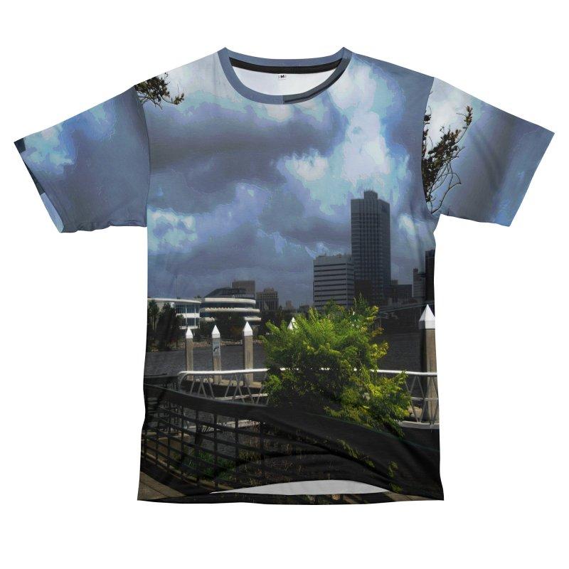 The Coming Storm 2555 Men's Cut & Sew by Korok Studios Artist Shop