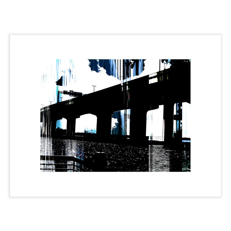 Under The Bridge 4978 Home Fine Art Print by Korok Studios Artist Shop