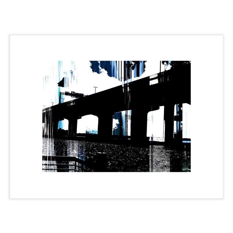Under The Bridge 4978 Home Fine Art Print by Korok Studios Artist Shop
