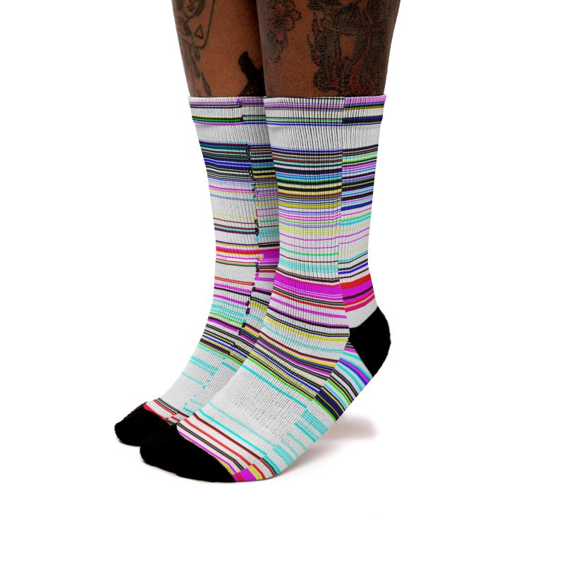 Horizontal Colour 20169 Women's Socks by Korok Studios Artist Shop