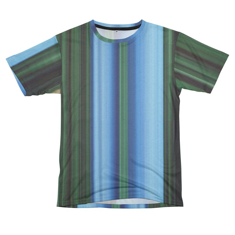 The Blue and The Green Men's Cut & Sew by Korok Studios Artist Shop