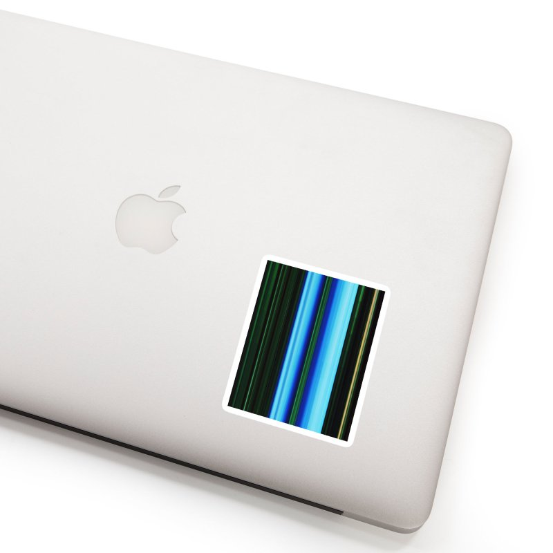 The Blue and The Green Accessories Sticker by Korok Studios Artist Shop