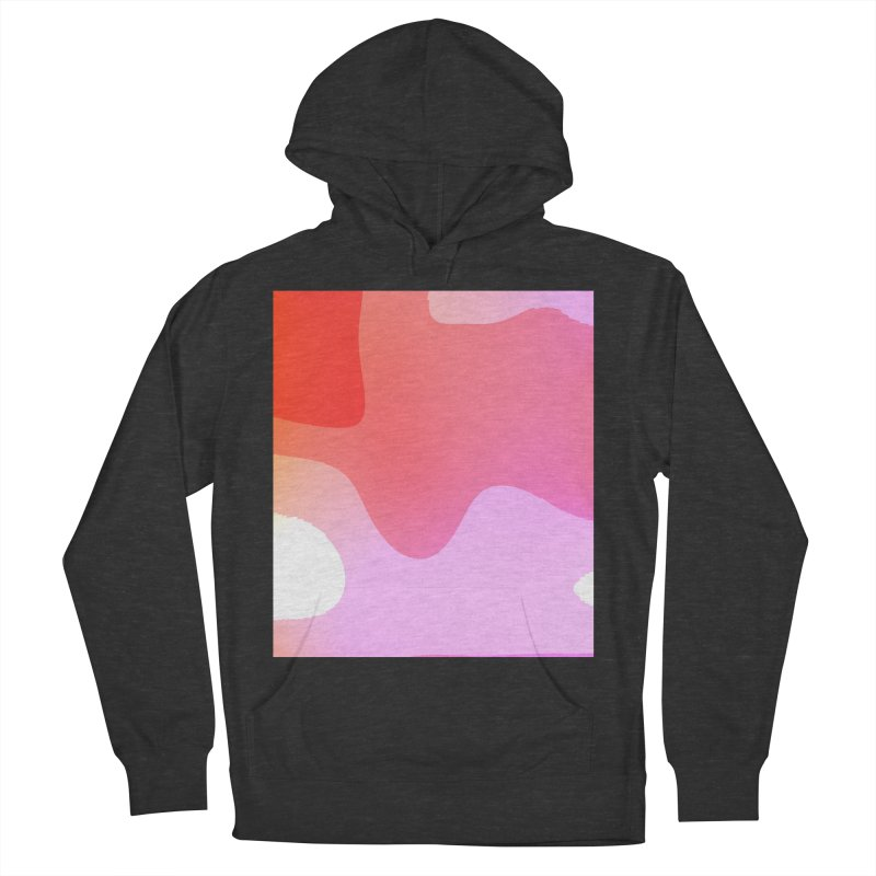 Red Calm 23 Women's French Terry Pullover Hoody by Korok Studios Artist Shop