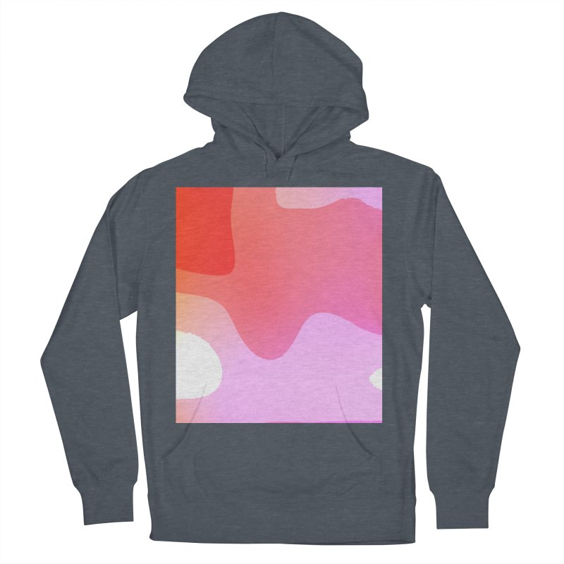 Red Calm 23 Women's Pullover Hoody by Korok Studios Artist Shop