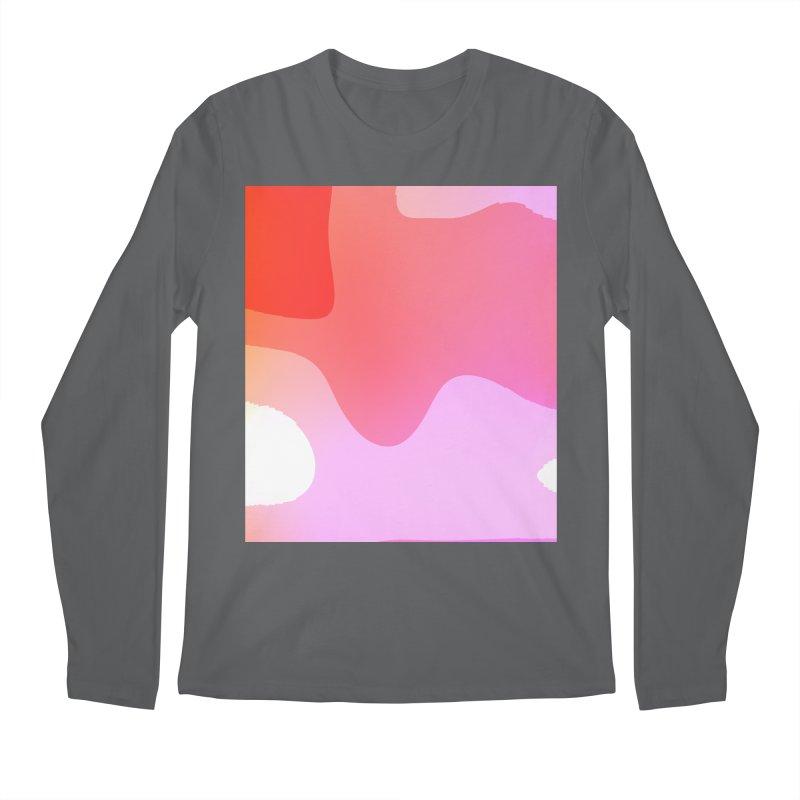 Red Calm 23 Men's Longsleeve T-Shirt by Korok Studios Artist Shop
