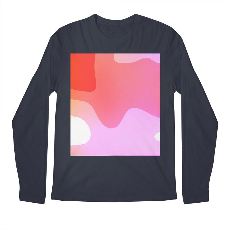 Red Calm 23 Men's Regular Longsleeve T-Shirt by Korok Studios Artist Shop