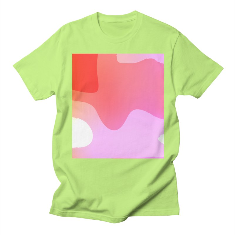Red Calm 23 Men's T-shirt by Korok Studios Artist Shop