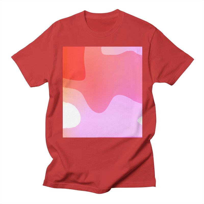 Red Calm 23 Women's Unisex T-Shirt by Korok Studios Artist Shop