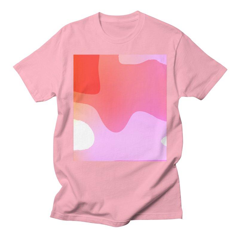 Red Calm 23 Women's Regular Unisex T-Shirt by Korok Studios Artist Shop