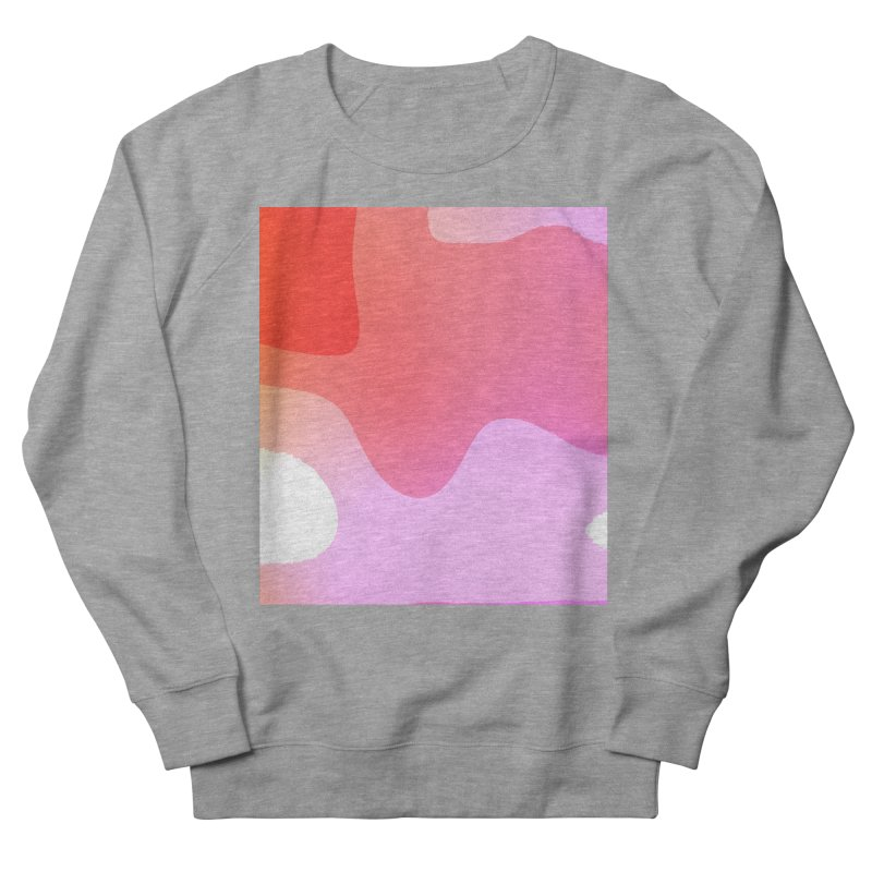 Red Calm 23 Women's French Terry Sweatshirt by Korok Studios Artist Shop