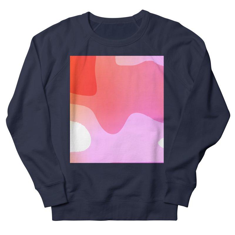 Red Calm 23 Women's French Terry Sweatshirt by Korok Studios Artist Shop