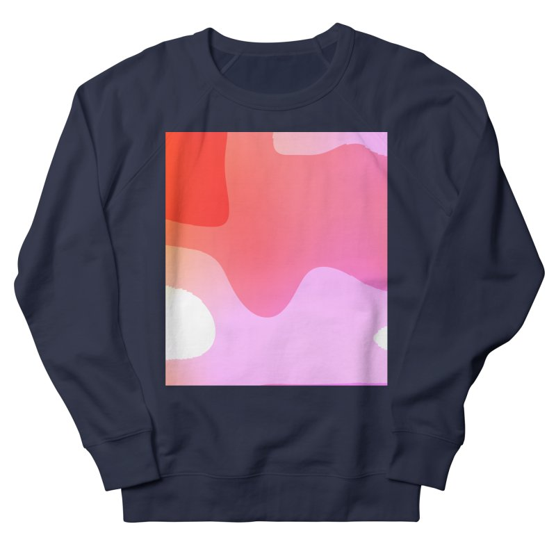 Red Calm 23 Men's French Terry Sweatshirt by Korok Studios Artist Shop