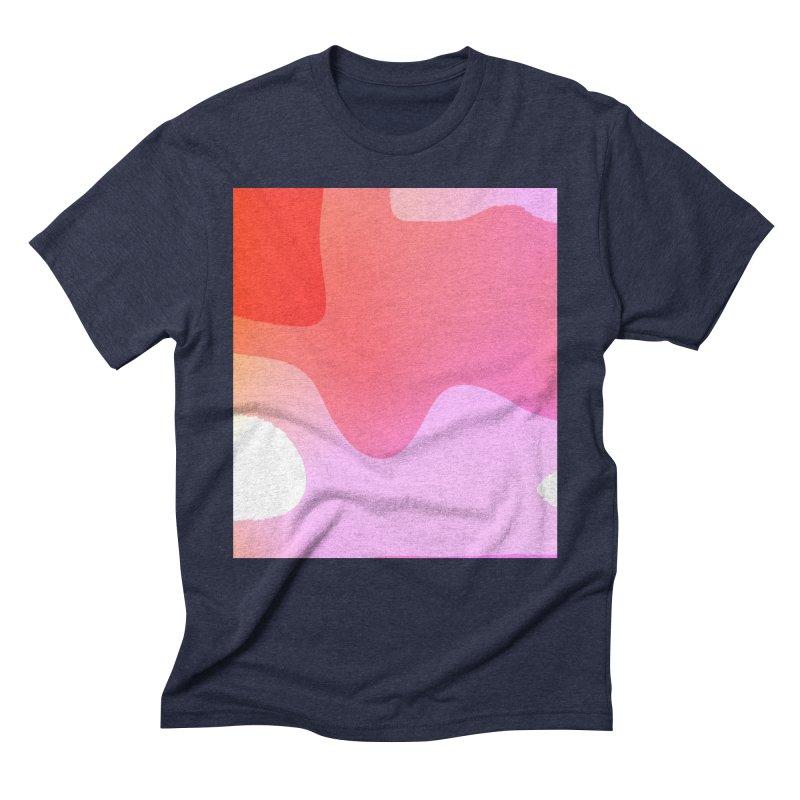 Red Calm 23 Men's Triblend T-Shirt by Korok Studios Artist Shop
