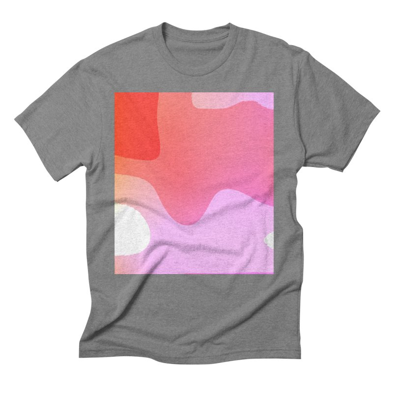 Red Calm 23 Men's Triblend T-Shirt by Korok Studios Artist Shop
