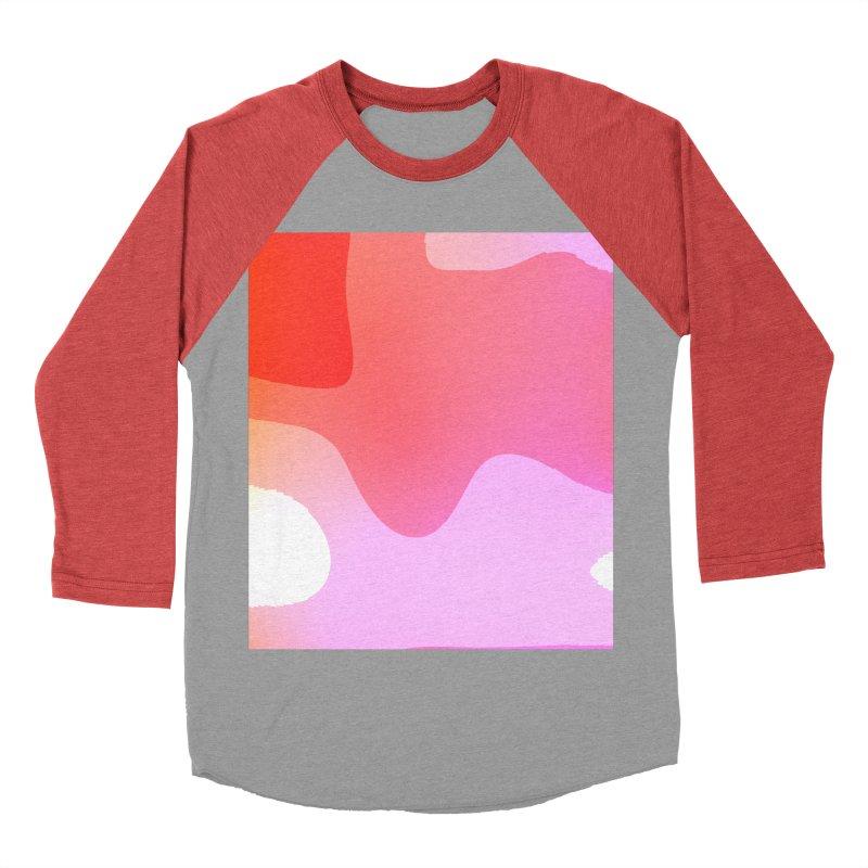 Red Calm 23 Women's Baseball Triblend Longsleeve T-Shirt by Korok Studios Artist Shop
