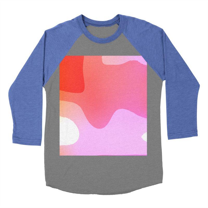 Red Calm 23 Men's Baseball Triblend Longsleeve T-Shirt by Korok Studios Artist Shop