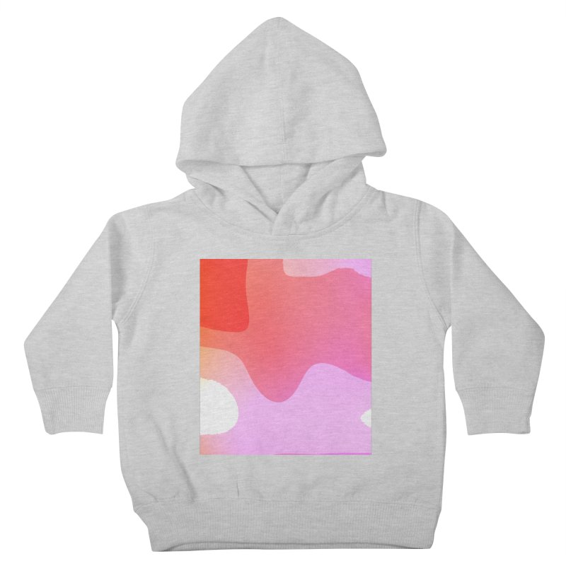 Red Calm 23 Kids Toddler Pullover Hoody by Korok Studios Artist Shop