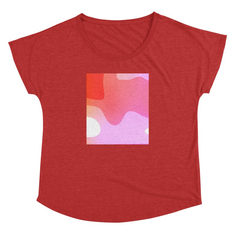 Red Calm 23 Women's Dolman by Korok Studios Artist Shop