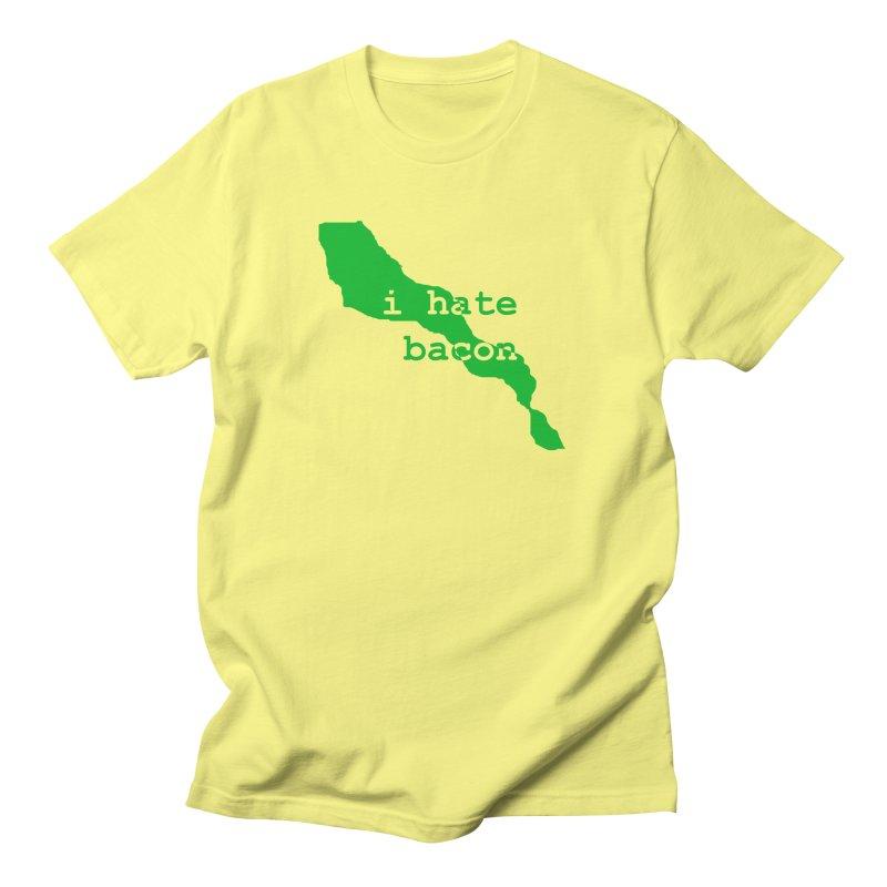 I Hate Bacon Women's Unisex T-Shirt by Korok Studios Artist Shop