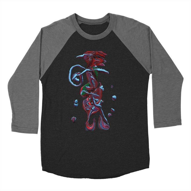 Objets de Culte Women's Baseball Triblend Longsleeve T-Shirt by Korok Studios Artist Shop