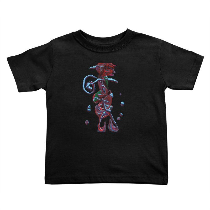 Objets de Culte Kids Toddler T-Shirt by Korok Studios Artist Shop
