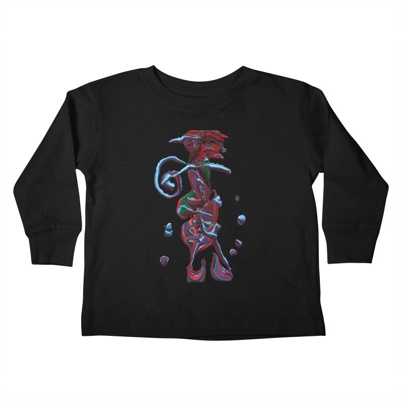 Objets de Culte Kids Toddler Longsleeve T-Shirt by Korok Studios Artist Shop