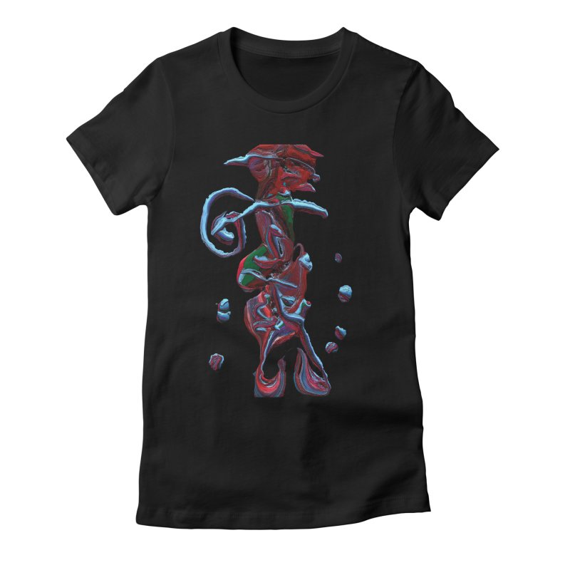 Objets de Culte Women's Fitted T-Shirt by Korok Studios Artist Shop
