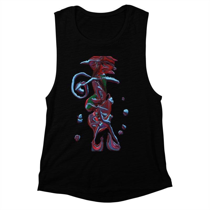 Objets de Culte Women's Muscle Tank by Korok Studios Artist Shop